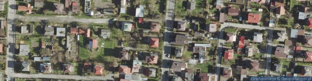 Zdjęcie satelitarne Łowiecka ul.
