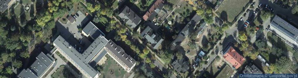 Zdjęcie satelitarne Lorentowicza, prof. ul.