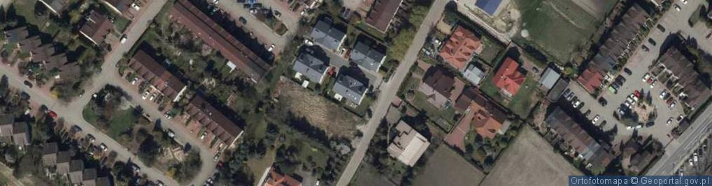 Zdjęcie satelitarne Londyńska ul.