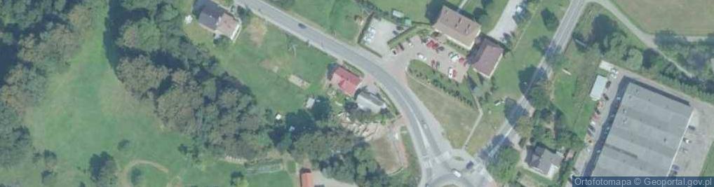 Zdjęcie satelitarne Łososińska ul.