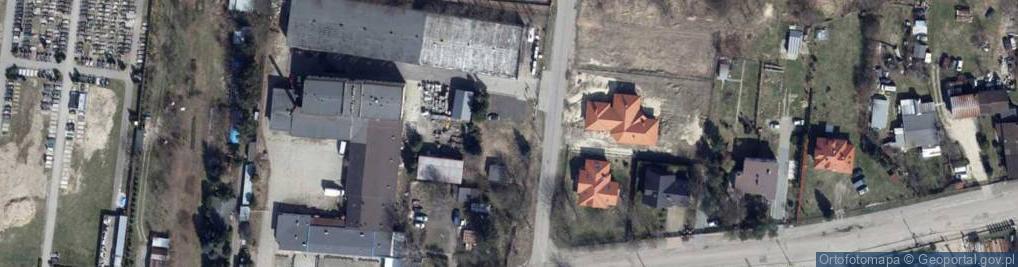 Zdjęcie satelitarne Łomnicka ul.