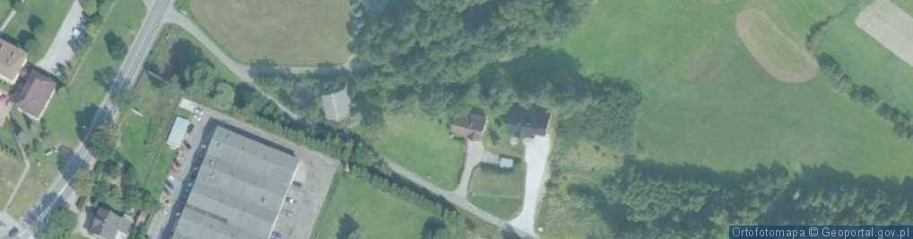 Zdjęcie satelitarne Łososina Górna ul.