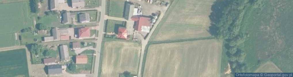 Zdjęcie satelitarne Łowiczki ul.