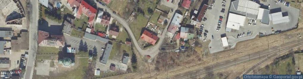Zdjęcie satelitarne Łozowa ul.