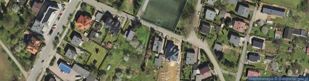 Zdjęcie satelitarne Łomnickiego Antoniego ul.