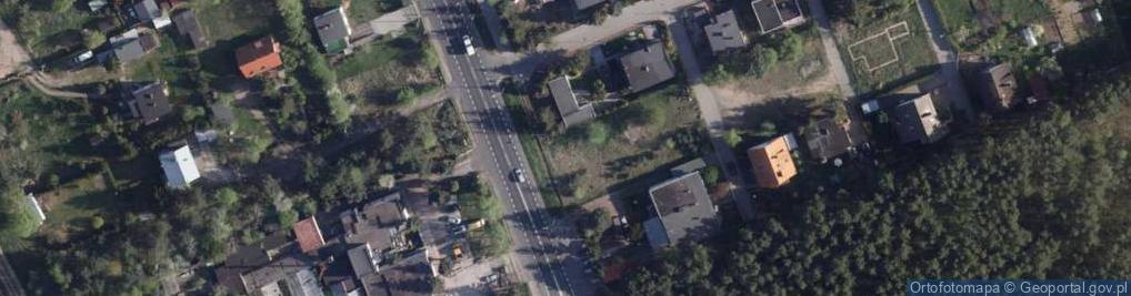 Zdjęcie satelitarne Łódzka ul.
