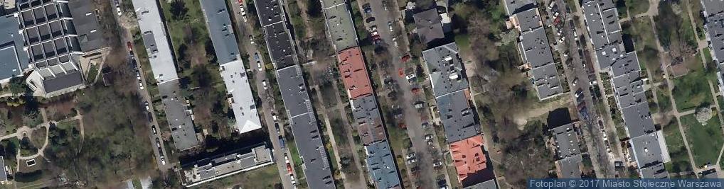 Zdjęcie satelitarne Łowicka ul.