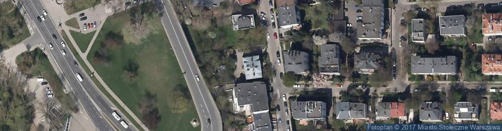 Zdjęcie satelitarne Łotewska ul.