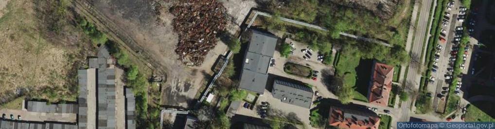 Zdjęcie satelitarne Łużycka ul.
