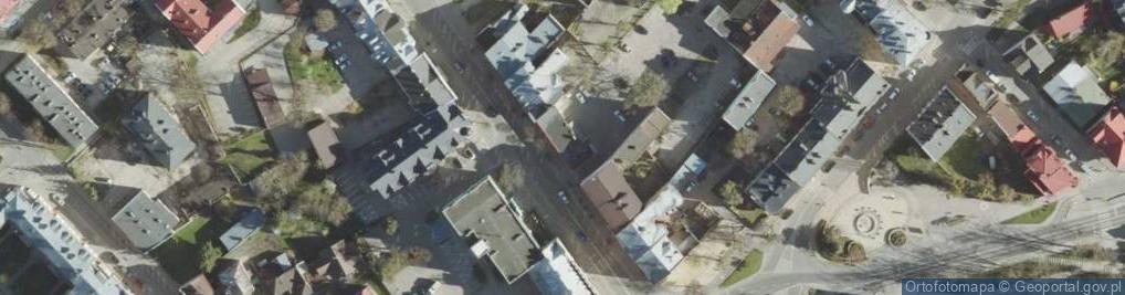 Zdjęcie satelitarne Lubelska ul.