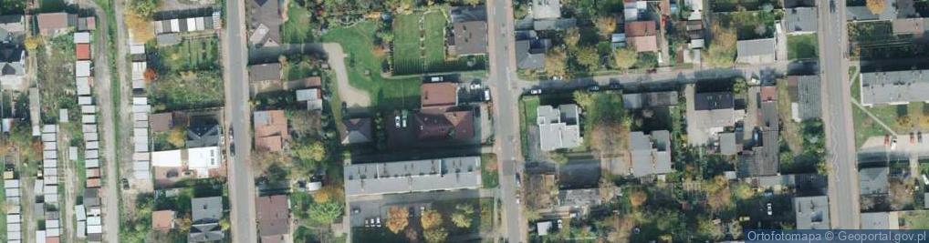 Zdjęcie satelitarne Łukasińskiego ul.