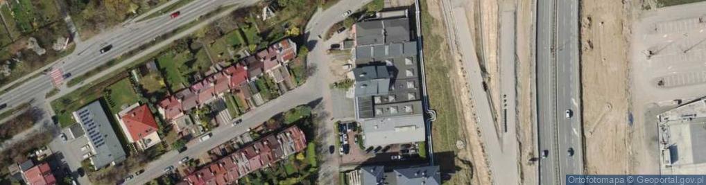 Zdjęcie satelitarne Lubczykowa ul.