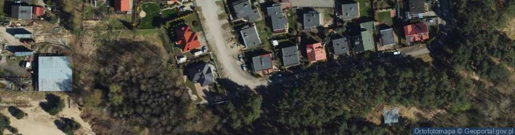 Zdjęcie satelitarne Lubuska ul.