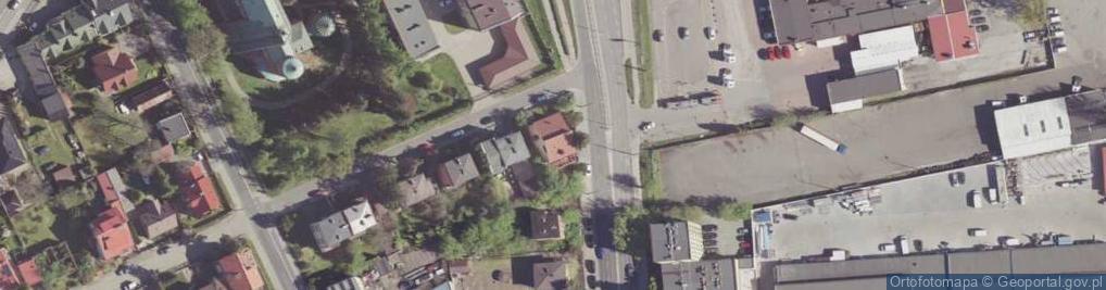 Zdjęcie satelitarne Łukasika Andrzeja, ks. ul.