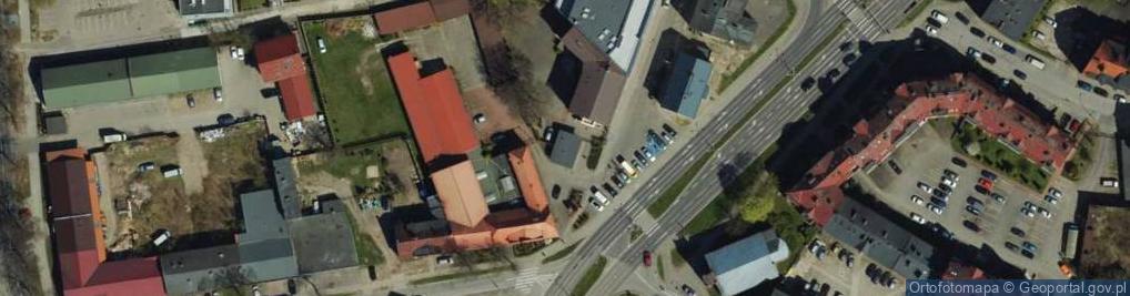 Zdjęcie satelitarne Lutosławskiego Witolda ul.