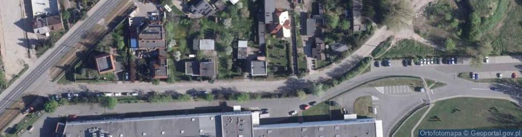 Zdjęcie satelitarne Łukowa ul.