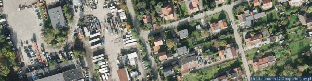 Zdjęcie satelitarne Łukasińskiego Waleriana, mjr. ul.