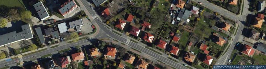 Zdjęcie satelitarne Łyskowskiego Ignacego ul.