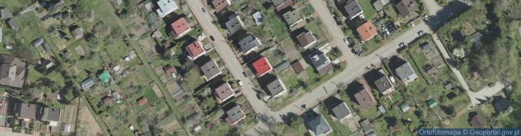 Zdjęcie satelitarne Makuszyńskiego Kornela ul.