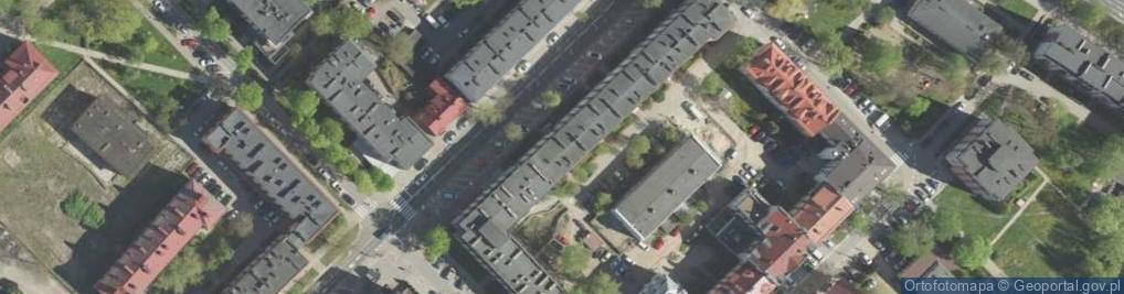 Zdjęcie satelitarne Malmeda Icchoka ul.