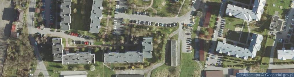 Zdjęcie satelitarne Małachowskiego Stanisława ul.