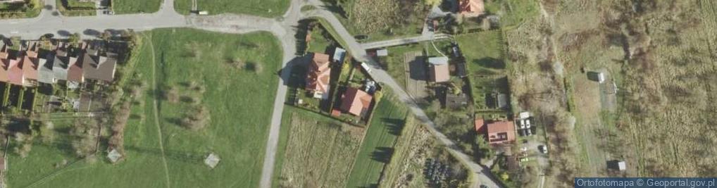 Zdjęcie satelitarne Malowane ul.