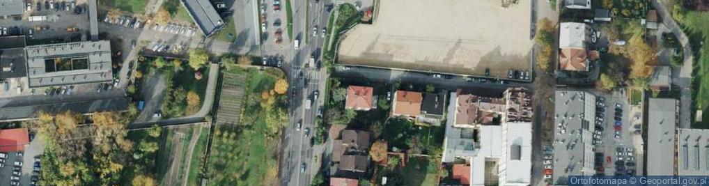 Zdjęcie satelitarne Mąkoszy ul.