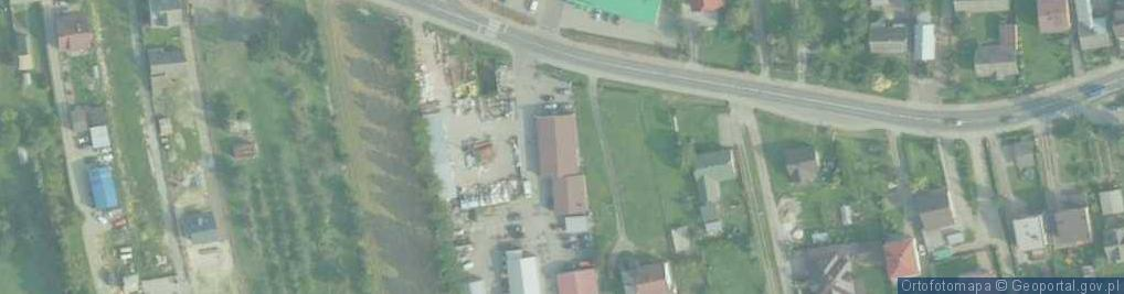 Zdjęcie satelitarne Marwin ul.
