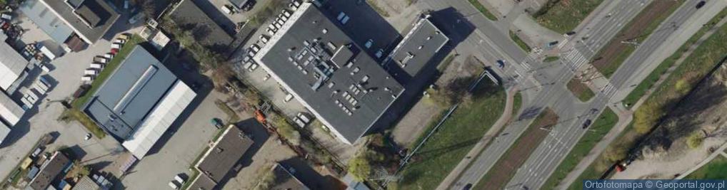 Zdjęcie satelitarne Marynarki Polskiej ul.