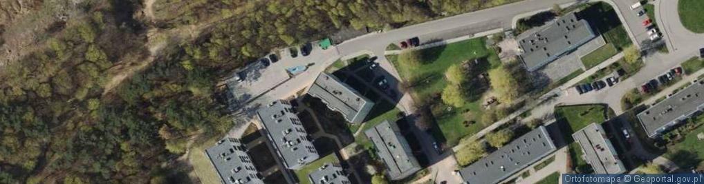 Zdjęcie satelitarne Maciejewicza Konstantego ul.