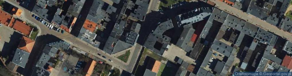Zdjęcie satelitarne Małogroblowa ul.