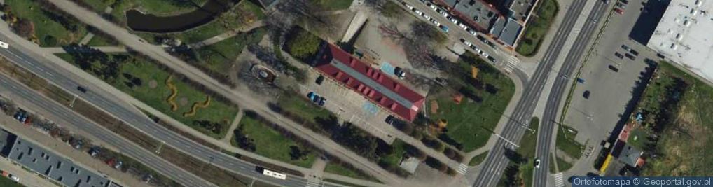 Zdjęcie satelitarne Małomłyńska ul.