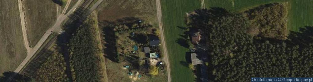 Zdjęcie satelitarne Malwiowa ul.