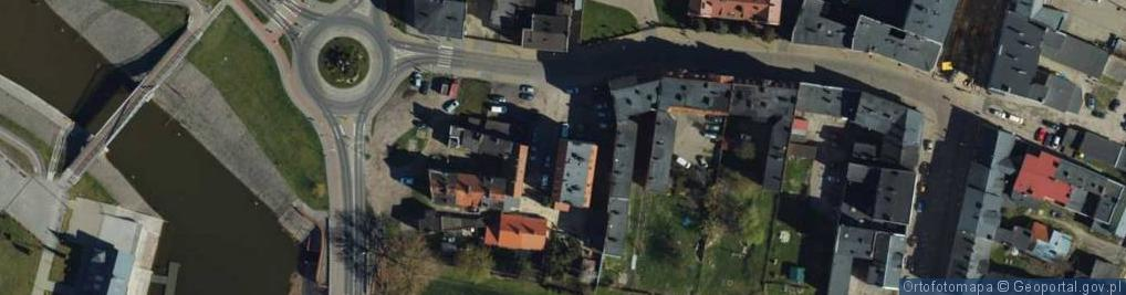Zdjęcie satelitarne Marcinkowskiego ul.