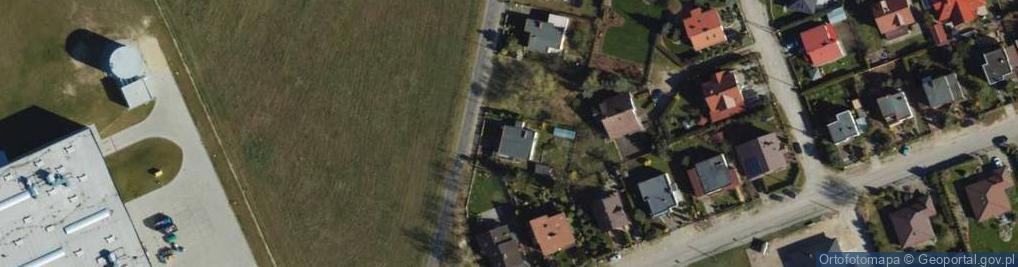 Zdjęcie satelitarne Margaretkowa ul.