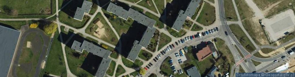 Zdjęcie satelitarne Mastalerza Kazimierza ul.