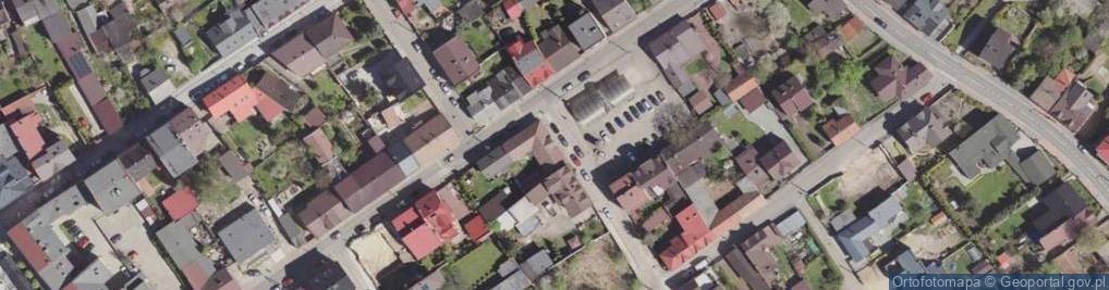 Zdjęcie satelitarne Mały Rynek ul.