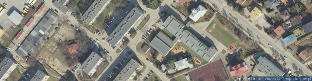 Zdjęcie satelitarne Magurów Jana i Stanisława ul.
