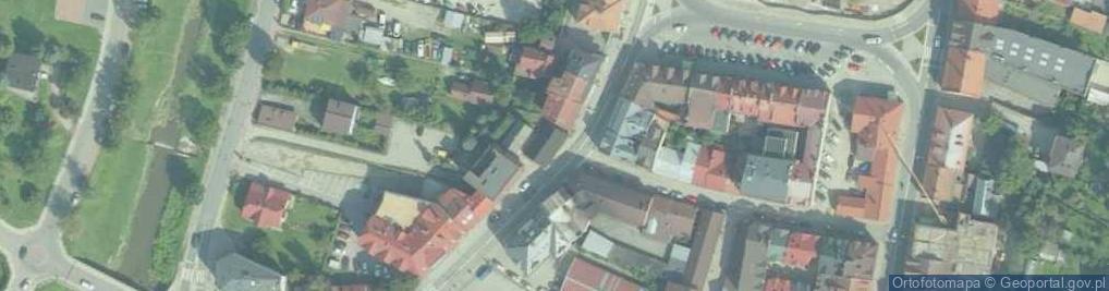 Zdjęcie satelitarne Marka Józefa ul.
