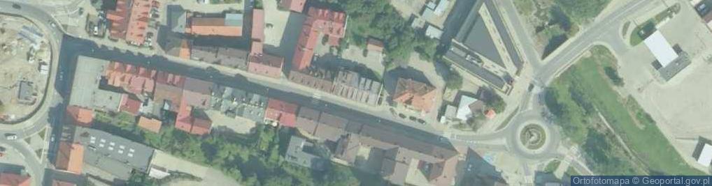 Zdjęcie satelitarne Matki Boskiej Bolesnej ul.