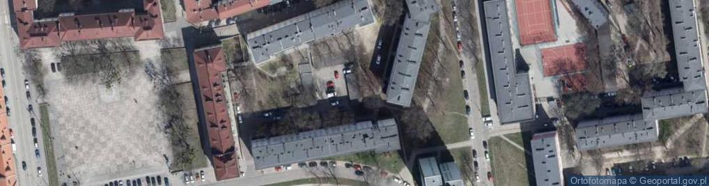 Zdjęcie satelitarne Majzela Eliasza Chaima ul.