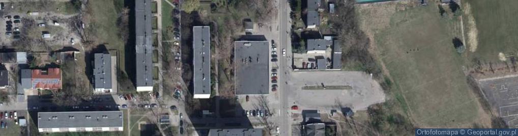 Zdjęcie satelitarne Marysińska ul.