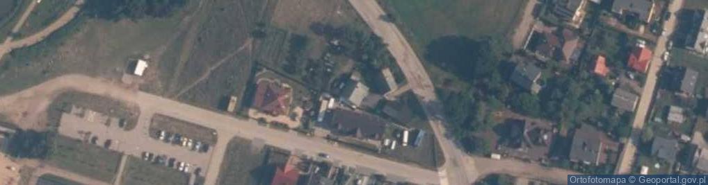 Zdjęcie satelitarne Machalewskiego, ks. ul.