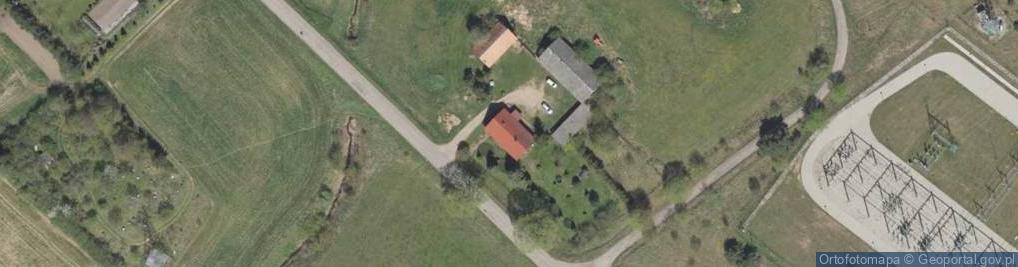 Zdjęcie satelitarne Maleczewo ul.