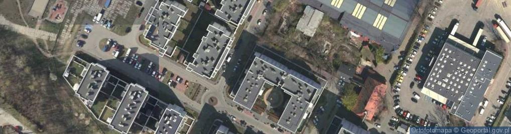 Zdjęcie satelitarne Małachowskiego Maksymiliana ul.