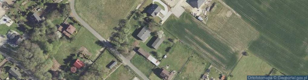 Zdjęcie satelitarne Magnolii ul.