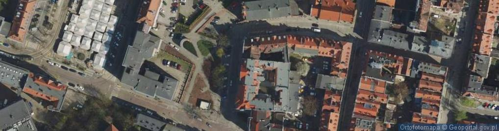 Zdjęcie satelitarne Masztalarska ul.