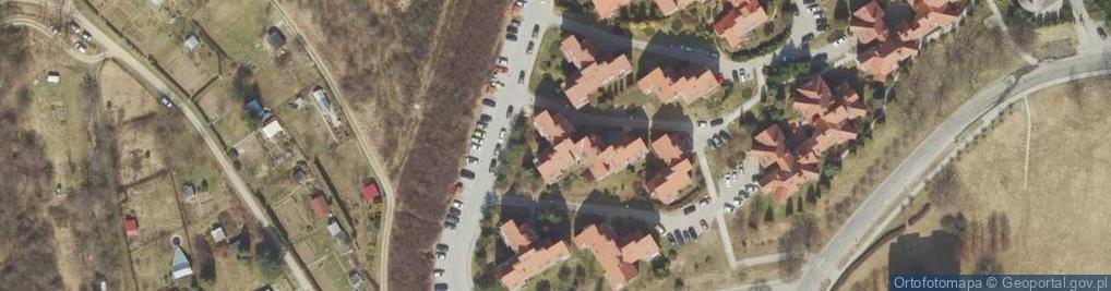 Zdjęcie satelitarne Malawskiego Artura ul.