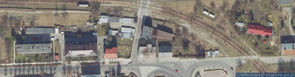 Zdjęcie satelitarne Mariacka ul.