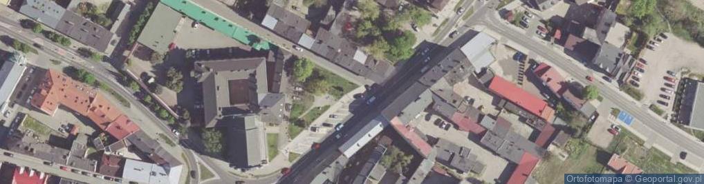 Zdjęcie satelitarne Malczewskiego Jacka ul.